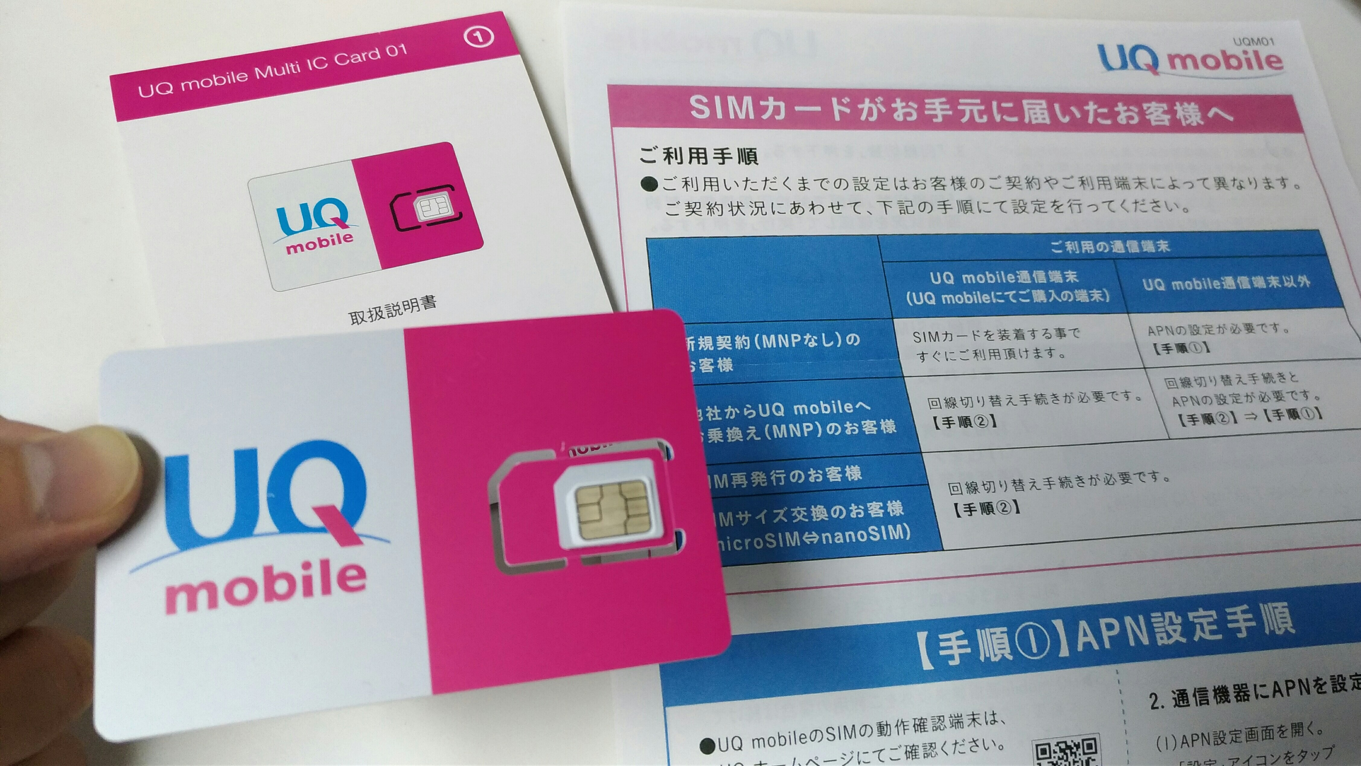 UQ mobile(利用料金・オプション)