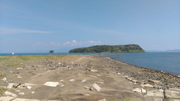フォーカスを知林ヶ島