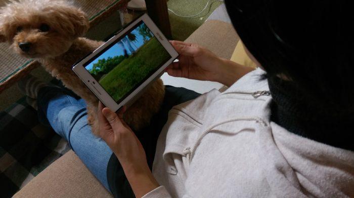 ZenPad 7.0(Z370KL) 持ちやすさ