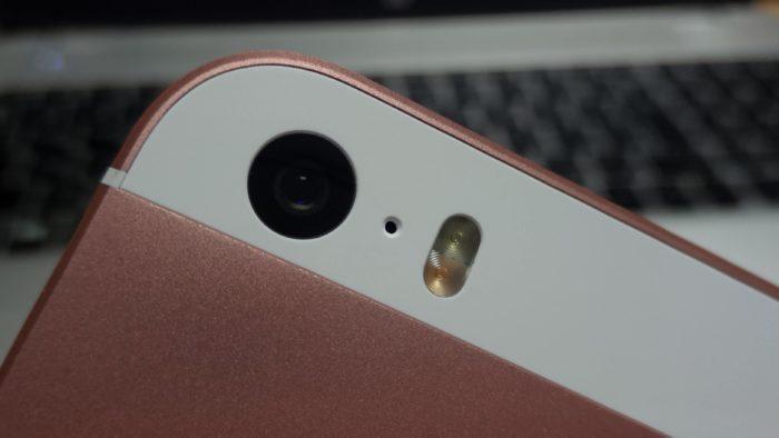 12メガピクセルのiSightカメラ