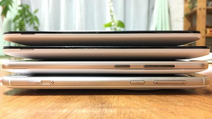 ZenFone5.5インチ4兄弟
