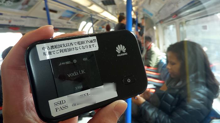 エクスクラウドの海外用モバイルルーター