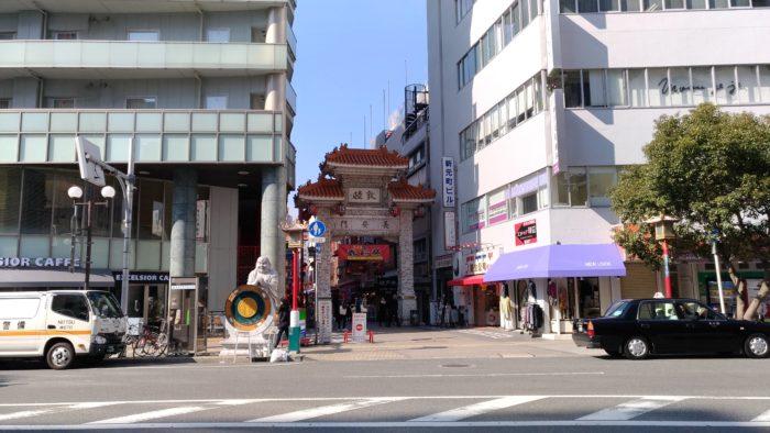 神戸元町の中華街「南京町」