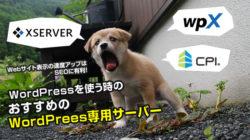 【利用経験あり】WordPressを快適に使えるレンタルサーバー6選!