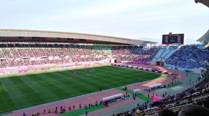 J1開幕戦のセレッソ大阪vsジュビロ磐田の試合