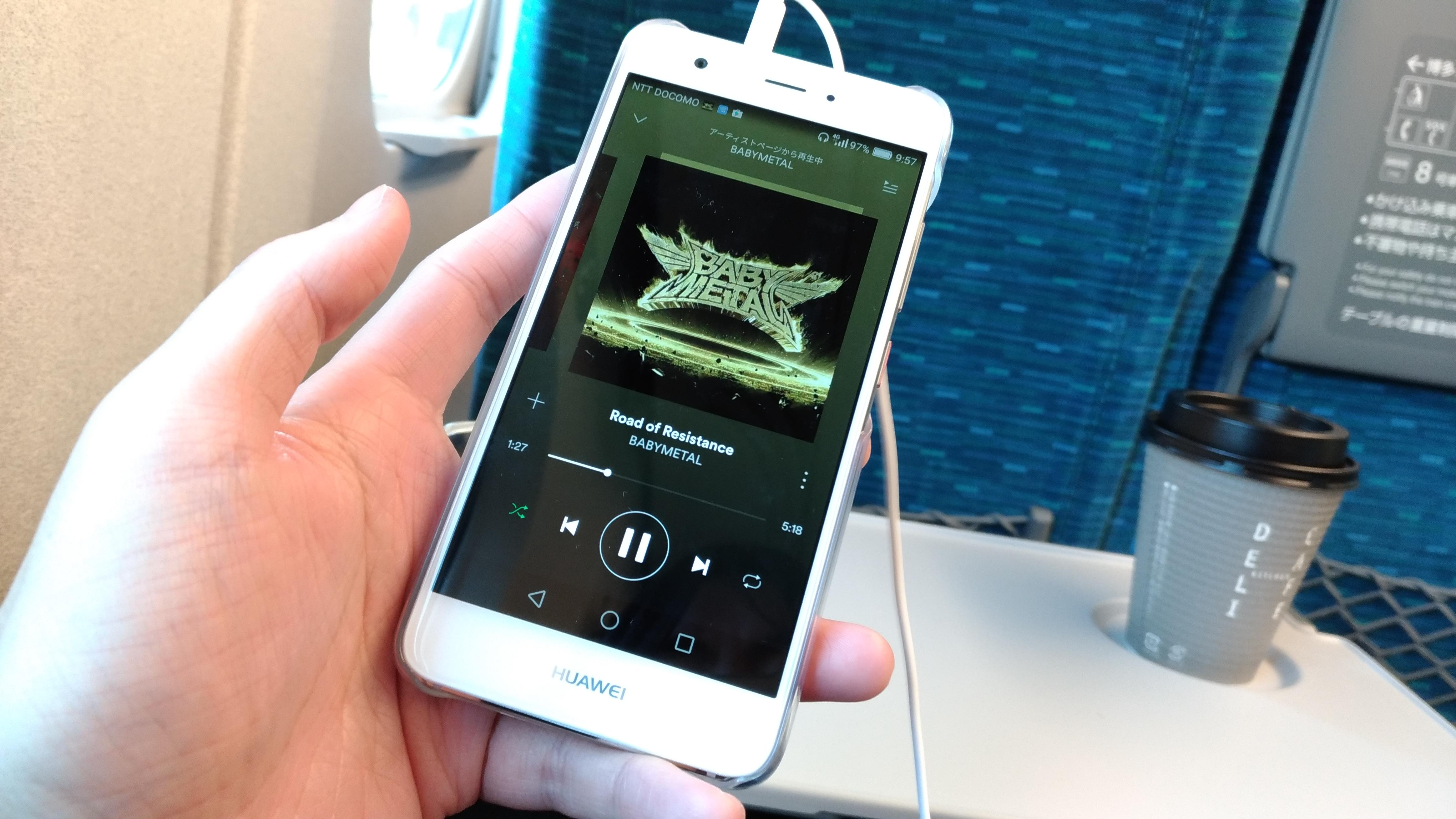 Spotify(音楽ストリーミングサービス)