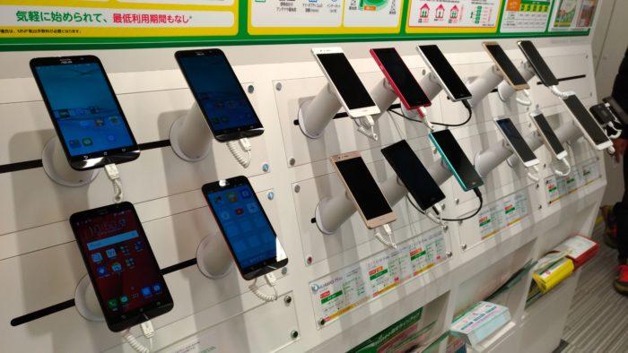 ZenFone Go、Huawei P9 lite、arrows m03