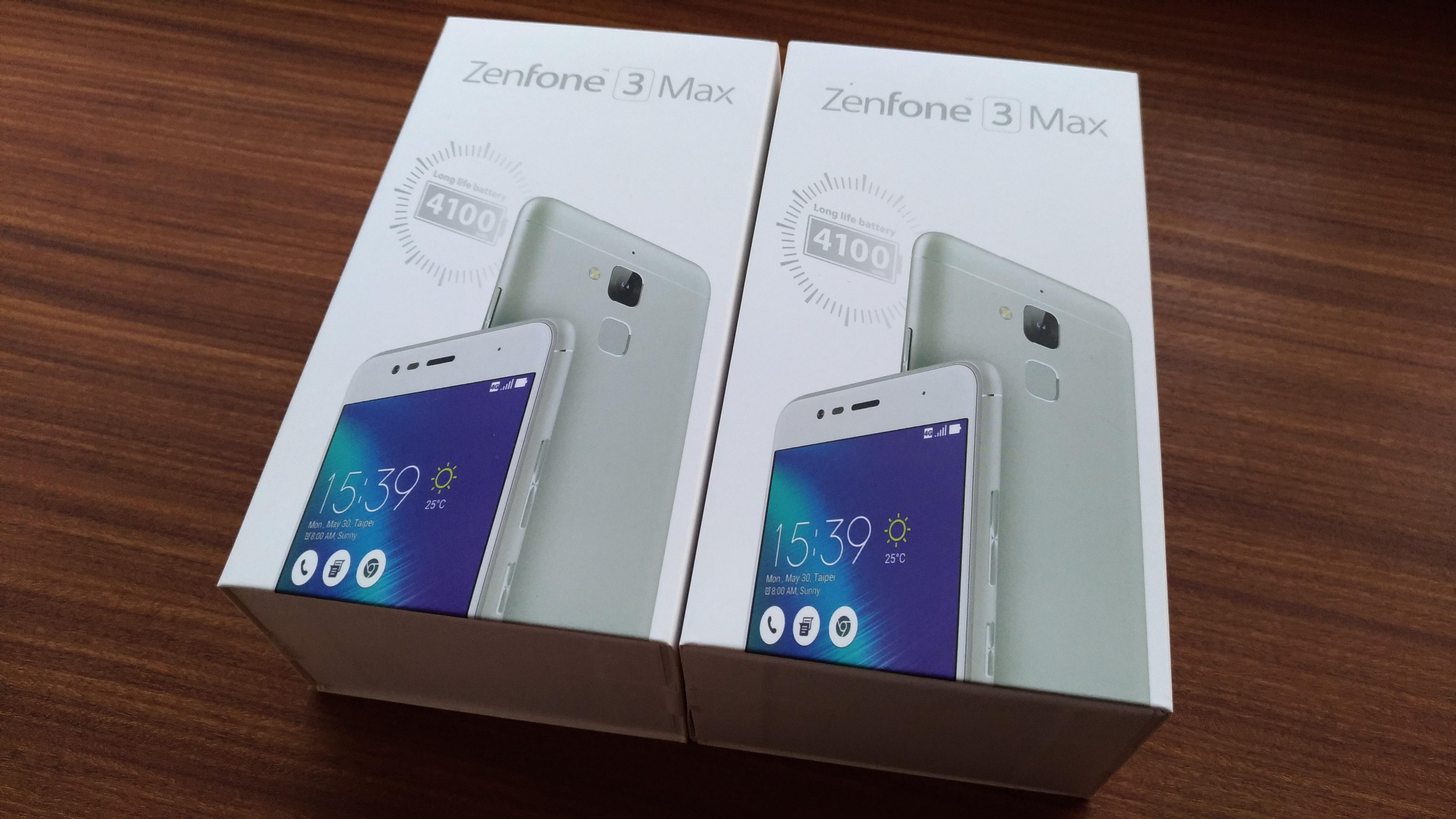2台買ってしまったZenfone 3 Max