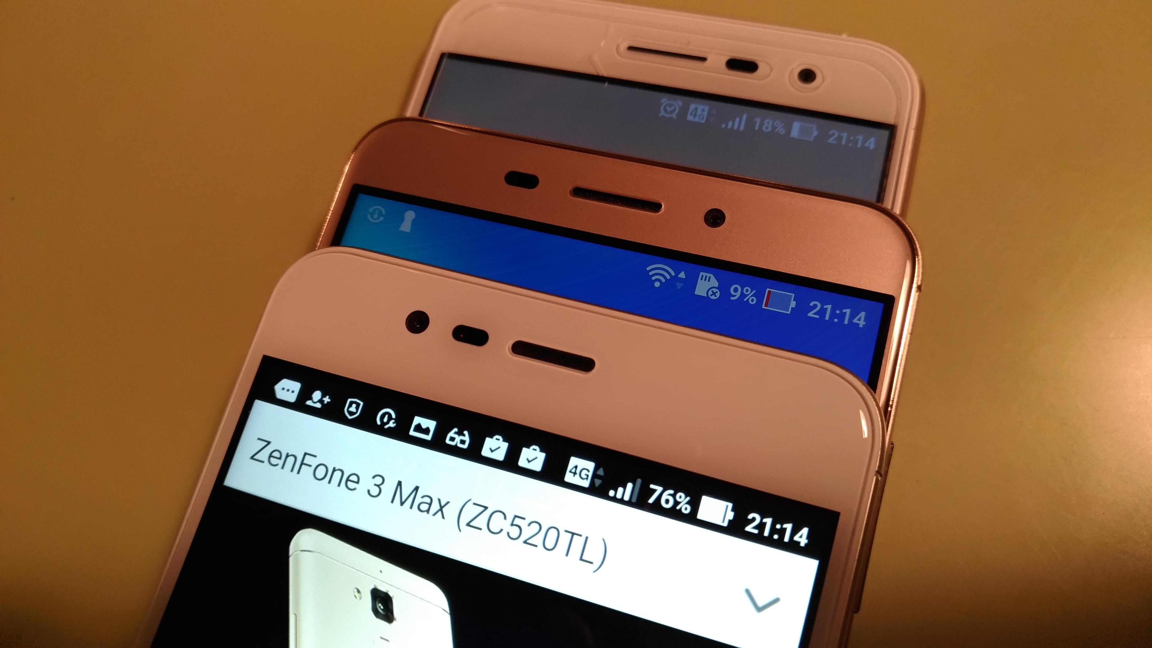 Zenfone 3、Zenfone 3 Laser、Zenfone 3 Max!