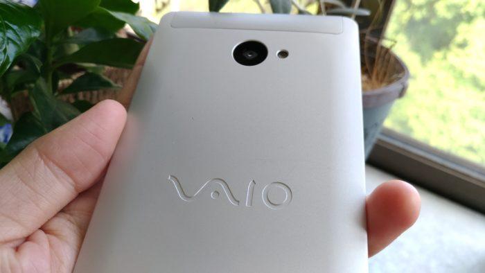 VAIO Phone Aの背面