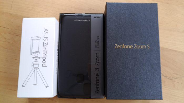 Zenfone Zoom SをASUS Shopで買った