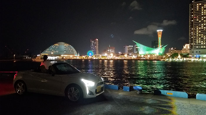 The 神戸の夜景を夜景モード