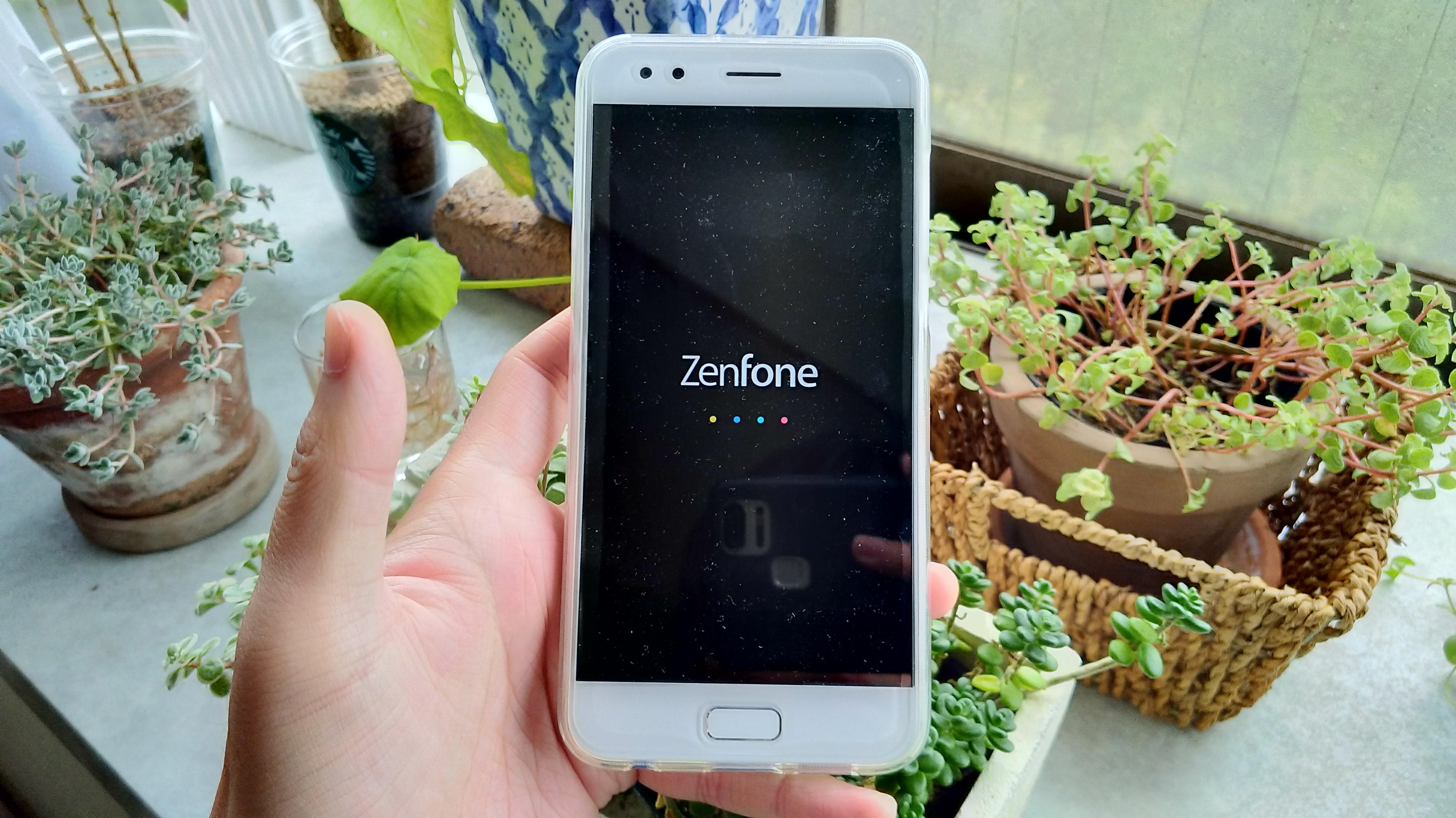 ZenFoneの初期設定