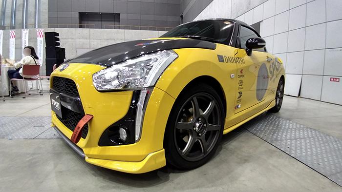 ダイハツ車トータルチューニングブランド「D-SPORT」