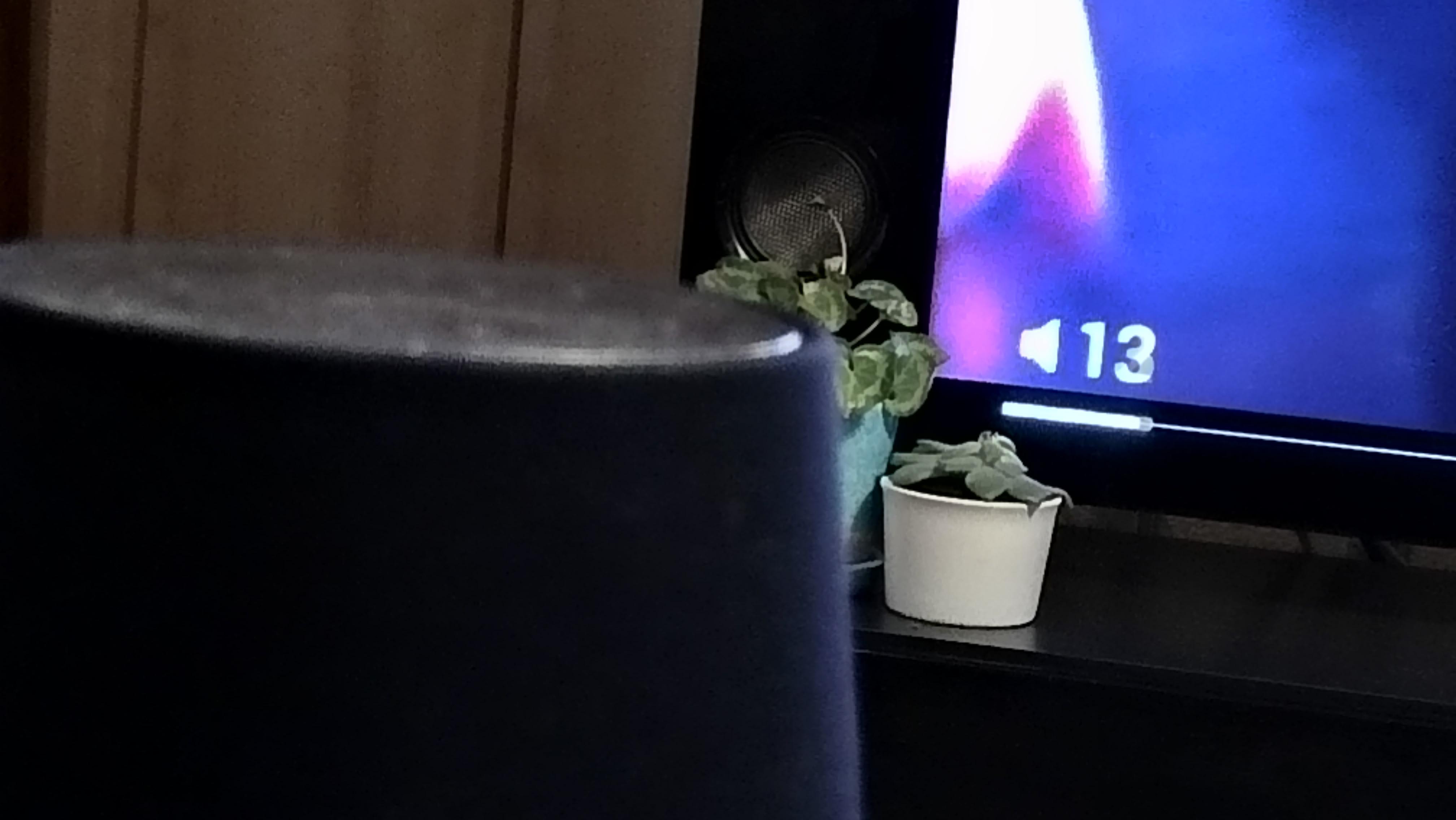 テレビのボリュウーム変更!