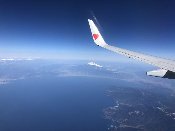 山の上からの写真の次は空から