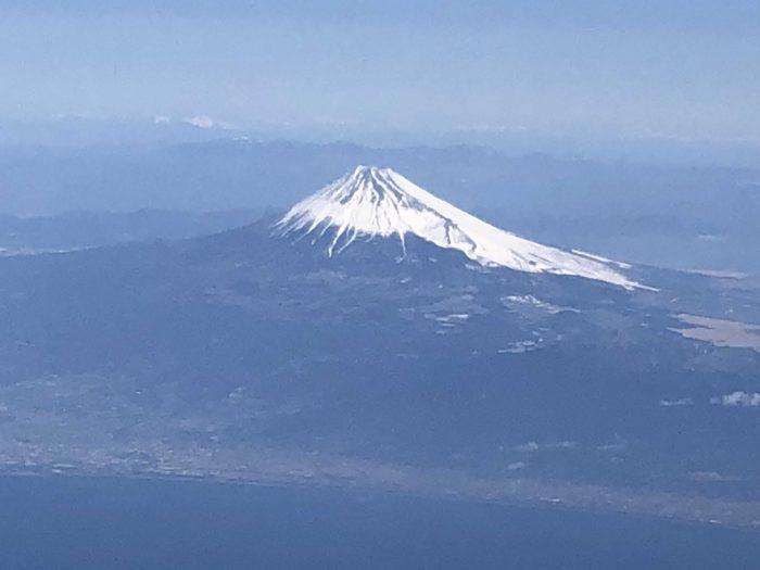 富士山を光学5倍ズーム!!!