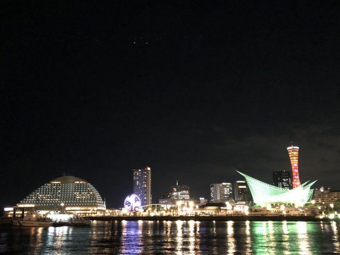 iPhone8で夜景の撮影