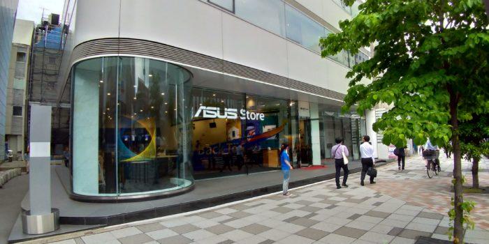 ASUS Store Akasaka 来店レポート