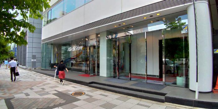 ASUS Store Akasakaへ