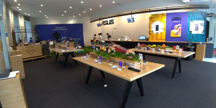 ASUS Store Akasakaの内観