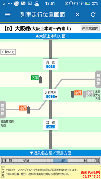 大和八木駅などのターミナル駅