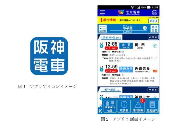 「阪神アプリ」のダウンロード方法