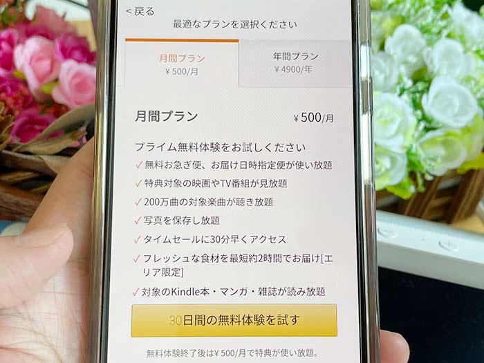 月額500円