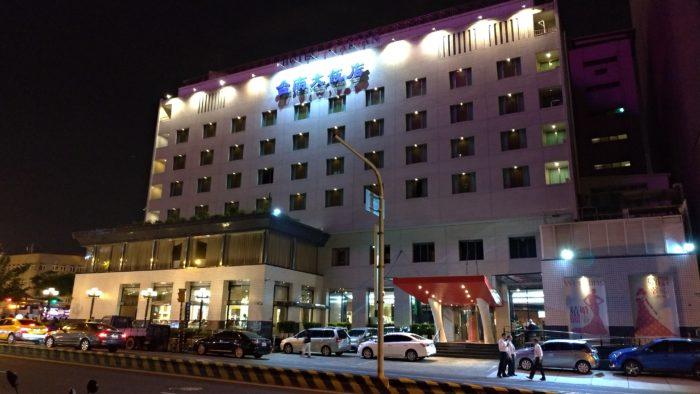 台南駅前の台南ホテル