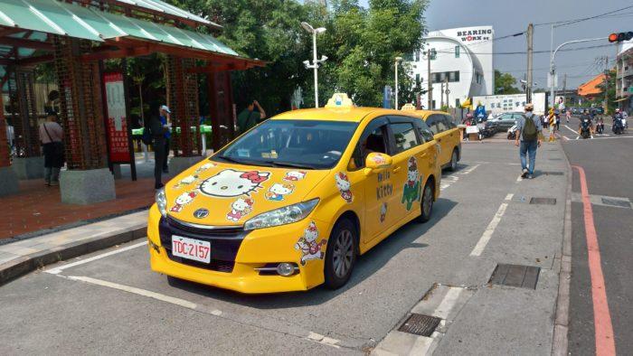 キティちゃんタクシー