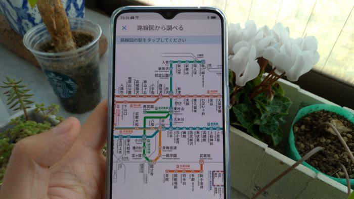 複雑な所沢駅