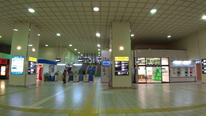 宿への帰りにJR鳥取駅