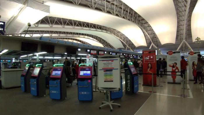 関西国際空港の無料WiFiの接続方法