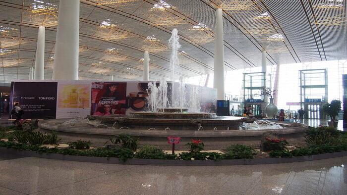 北京空港で乗り継ぎをする際