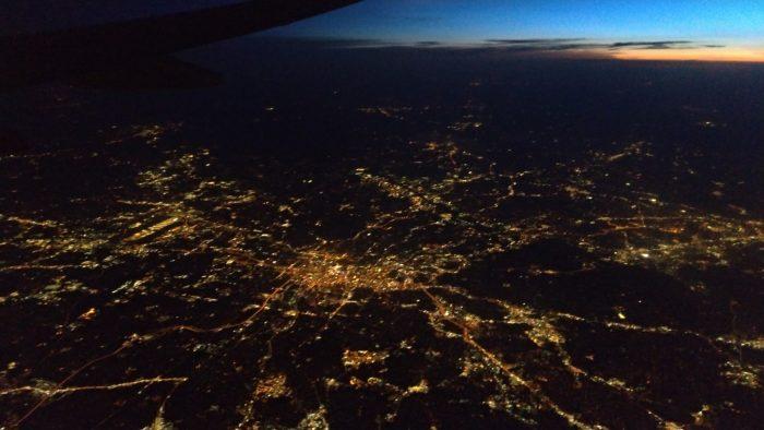アトランタの夜景