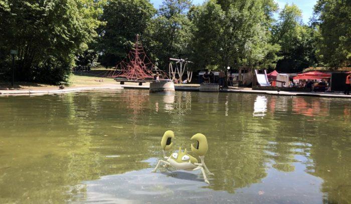 池と同化してるクラブ