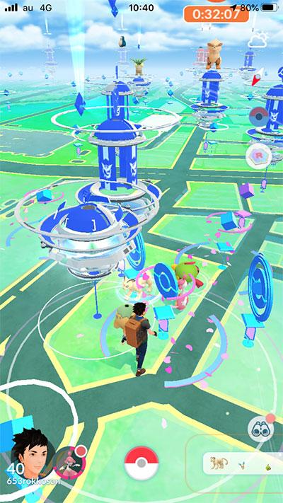 ポケモン広場周辺