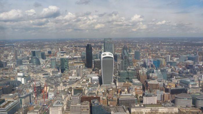 ロンドンは古風な建物