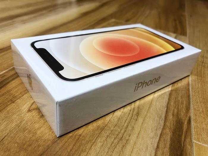 iPhone12ミニ 化粧箱