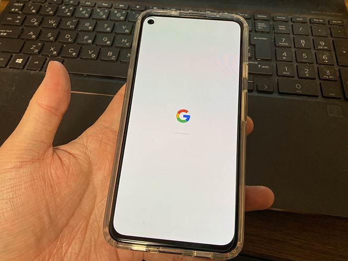 Googleデータの復元