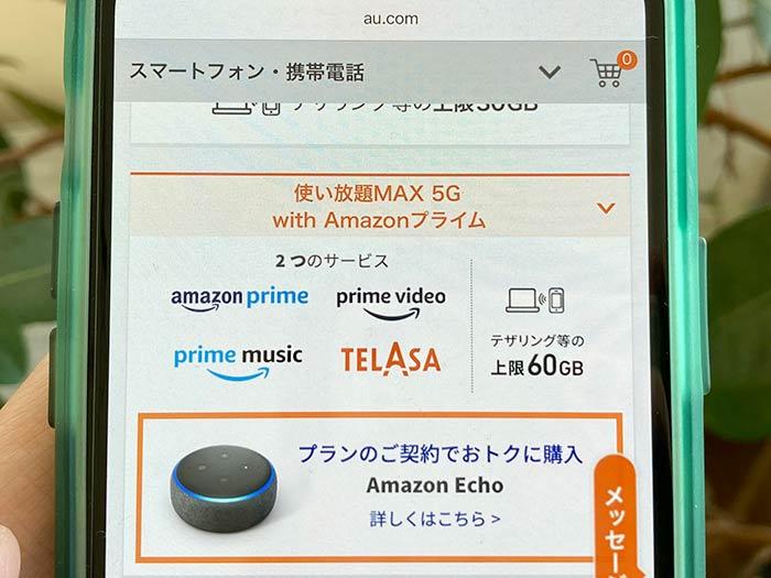使い放題MAX with アマゾンプライム
