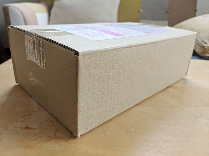 指定した日時に小包到着!