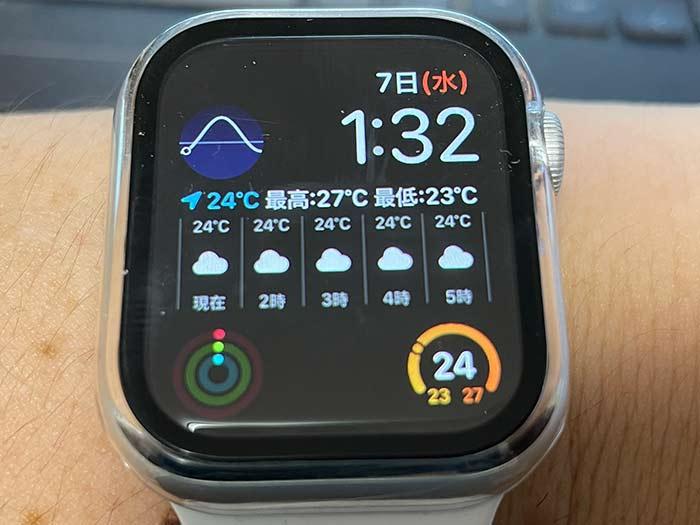 アップルウォッチ時計盤(文字盤)